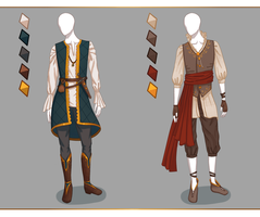 CLOSED Fashion adoptables - Male outfits #1 by Ayleidians