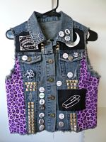 Horror Vest 2 (SOLD) by Femmearchist
