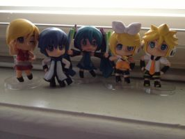 My Vocaloid figures by SonicMiku