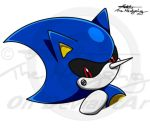 Metal Sonic colo1 by Metal-CosxArt