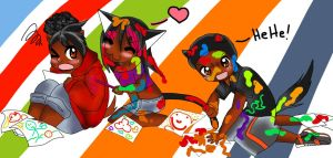 SOULSTILLER, PrettyGirlRockie, and Jazzy2cool by jazzy2cool