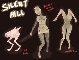 Silent Hill Monster Board One by Nyx-Abelle