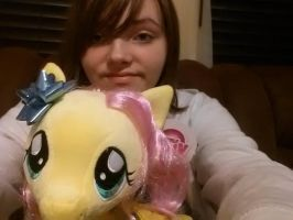 Me And Fluttershy 2 by Chibi-Rainbow