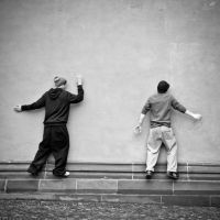 Wall walkers... by Milanogreg