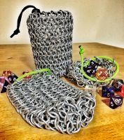 chainmail bags 1 by BlackhandCustoms