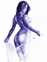 Ballpoint Sketch by dtor91