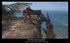 Rooftop Assassination by compositecoyote