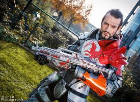 Commander Leon C. Shepard - Mass Effect 3 Cosplay by LeonChiroCosplayArt