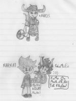 tAVROS, KARKAT, and GaMzEe by Starville6