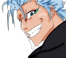 Grimmjow colored using Gimp by akatsuki-girl-krista