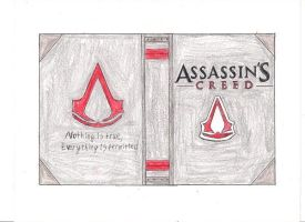 Assassin's Creed Book Cover by dragonwar23
