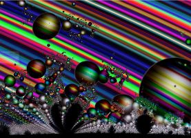 Desert Bubbles of Rainbow Worlds 2 by annemaccat