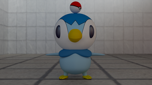 Modeling Test : Piplup by Solacen