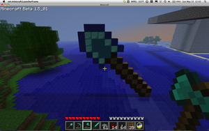 Diamond shovel statue by Incertus984