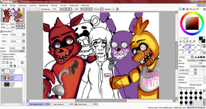 FIVE NIGHTS AT FUCK YOU :: w.i.p by AskFallonStryker