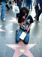 Ariel on Michael's Star by xIch-brech-ausx