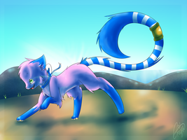 Happy to see the blue blue Sky by EmijuTheFinnArtist