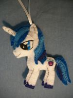 Shining Armor Handmade Felt Ornament 1 by grandmoonma