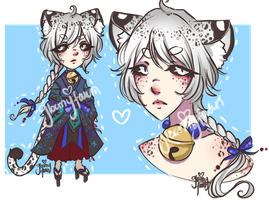 [closed ty] snow leopard - auction by GloomyFawn