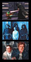 Topps Star Wars GALACTIC FILES Puzzles 2 by MJasonReed