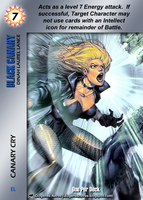 Black Canary Special - Canary Cry by overpower-3rd