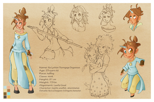 Character Sheet: Ilia by VioletKy