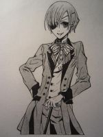 Young Master Phantomhive by Timelady93