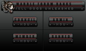 Marble Forum Ranks by bry5012