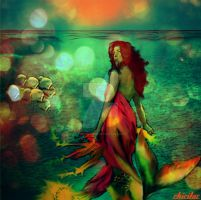 flame mermaid by Lolita-Artz