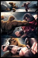 Thing vs Juggernaut by JPRart