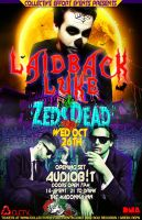 Laidback Luke Flyer by DeWeirdo