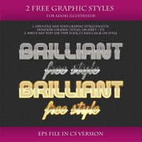 FREE Brilliant Styles for Adobe Illustrator #9 by Love-Kay