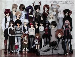 New group photo by yenna-photo