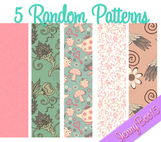 Random Patterns para PhotoShop by JennyBoo15
