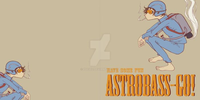 Astrobass-GO CD cover design 1 by luciec