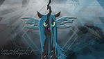 Love and Bow to your Queen Chrysalis by LeonBrony