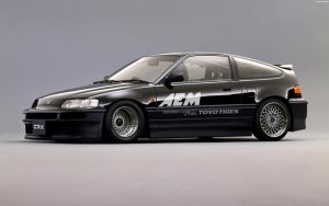 Honda CR-X SIR '91 by HAYW1R3