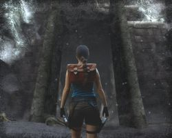Tomb Raider Mountain Caves by Val-Raiseth