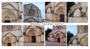 Abbey Pack V The Facade by morana-stock