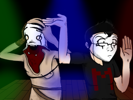 Mime Mark and Mime Grunt by AnimeTimelord