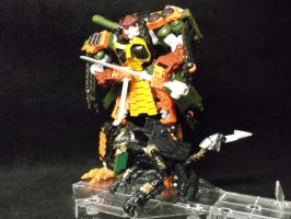 Bludgeon has a new pet, Hatchet! by forever-at-peace