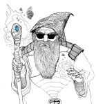 Cool Wizard by Whitsteen