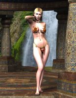 Half Elf Slave Girl by Atlantean6