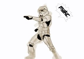 Stormtrooper by Imakc