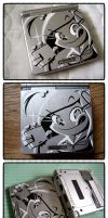 GameBoy Advance SP by pure1water