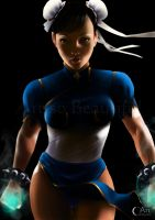 Chun Li - Street Fighter by jht888