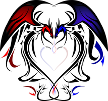 Heart Dragons by silentsleeper