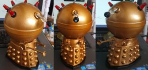 The TV21 Golden Emperor Dalek by Hordriss