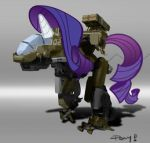 Mech Rarity by ponyrake