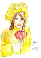 Girl in Yellow by phoenixdoll